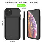 5000mAh Power Bank Case for iPhone 11 Pro Max External Battery Backup Charger