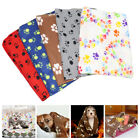 Washable Pet Blanket Cute Flannel Small Medium Dogs Bed Mat Sofa Cushion Cover