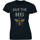 Save The Bees, Plant More Trees Clean The Sea - Nature Lover Women's T-shirt Tee