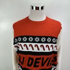 New Jersey Devils Mens NHL Ugly Christmas Sweater Forever Collectibles MSRP $65 $20.79 USD on eBay