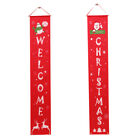 Купить Merry Christmas Banner Door Curtain Xmas Tree Welcome Home Hanging Decoration