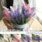 20 Pcs Plastic Lavender Flowers Diy Bridal Artificial Bouquet Home Wedding Decor