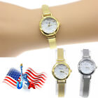 Women Ladies Girls Quartz Wrist Watches Small Dial Mesh Stainless Steel Trend image
