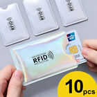 Kyпить 10pcs RFID Blocking Sleeve Credit Card Protector Bank Card Holder for Wallets на еВаy.соm