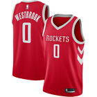 NWT Houston Rockets #0 Russell Westbrook Youth Red Jersey on eBay