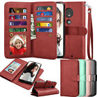 For Motorola Moto G7 Power/plus/play/optimo Maxx Wallet Flip Leather Case Cover