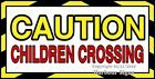 (CHOOSE YOUR SIZE) Children Crossing DECAL Concession Truck Vinyl Sticker