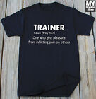 Funny Trainer Definition T-shirt Coach Trainer Birthday Christmas Gift Humor Tee