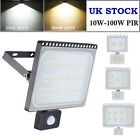 100W 20W 50W PIR LED Floodlight Sensor Outdoor IP65 Security Spotlight Graden UK