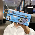 Tom and Jerry Wristband + Chain Phone Case Cover For iPhone11 Pro Huawei Nova 4