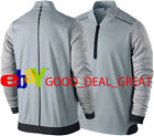 Nike Tiger Woods TW Tech 2.0 1/2 Zip Cover Up 619756-017 Size Large