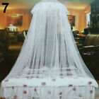 Lace Insect Bed Canopy Netting Curtain Round Dome Mosquito Net Bedding US Stock image