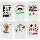 Funny Christmas T-Shirts Novelty Rude Joke Tops Mens Womens Secret Santa Gift