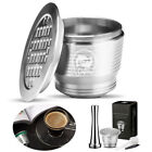 For Nespresso I Cafilas Stainless Steel Reusable Refillable Coffee Capsule Pods