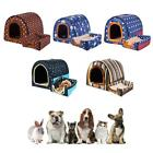 Pet House Dog Bed Removable Washable Kennel Universal Portable Sleeping Cushion
