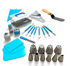 Cake Decorating Kit Set Tools Bags Russian Piping Tips Pastry Icing Bags Nozzles