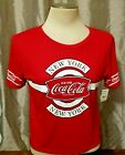 Womens Coca Cola short sleeve T Shirt, Authentic vintage Style Classic Tee $9.0  on eBay