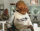 Tim Rose Autograph 11x14 Photo Star Wars Admiral Ackbar SIGNED JSA COA $69.99 USD on eBay