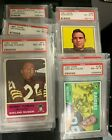 PSA 7,8,9 Graded Oakland Raiders 60's, 70's and 80's - U pick Complete your set $9.99 USD on eBay