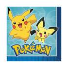 POKEMON Birthday Party Range - Tableware Balloons & Decorations Pikachu