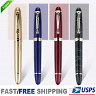 Kyпить Fountain Pen Jinhao X450 Black with Fireworks 0.7mm Broad Nib 18KGP Golden Trim на еВаy.соm