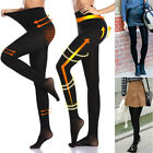 Women's Opaque Tights Lined Thermal Tights Anti-hook Tear Resistant Pantyhose US