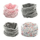 Kids Boys Girls Baby Winter Scarf Soft Cotton O Ring Neck Warmer Snood Scarves