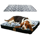 Pet Dog Bed Kennel Cushion Pillow Luxury Mattres Travel Pet Washable Super Large
