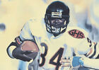 VERY RARE, Walter Payton, Chicago Bears Lithograph REPRINT Poster Print $14.99 USD on eBay