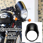 For Triumph Bonneville T100 T12 Headlight Cafe Racer Flyscreen Surround $110.0 USD on eBay