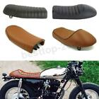 Universal Motorcycle Flat & Hump Saddle Cafe Racer Refit Vintage Seat Cushion US $46.73 USD on eBay