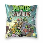 Plants vs. Zombies Pillow Case Cover Mat Bed Sofa Waist Mat Xmas Home Decor Gift
