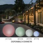 Sphere ball LED 16W RGB +W lamp decorative multicoloured garden IP65 E27 220V