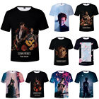 New Shawn Mendes 3D Printed T-Shirt Summer Casual Unisex Short Sleeve Tee Tops
