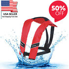 New Year Sale Life Jacket Vest Adult Fishing Boating PFD Automatic Inflatable