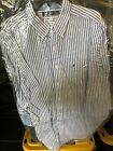 Nautica Gray and White Long Sleeve Authentic NWT