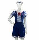 Stranger Things 3 Costume Steve Robin Scoops Ahoy Uniform Cosplay Fancy Outfits