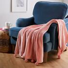 Soft Cozy Woven Throw with Pom Poms image