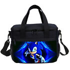 Sonic The Hedgehog Kids School Backpack Lunch Sling Bag Pen Case Boys Gifts Lot