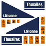 More images of Thwaites 1.5 Tonne Decal Set