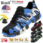 Mens Safety Work Shoes Steel Toe Boots Indestructible Outdoor Casual Sneakers US