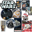 STAR WARS Party Birthday Plates Napkins Cups Favors Stickers Tattoos Tablecover $0.99 USD on eBay