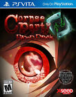 Corpse Party: Blood Drive (Sony PlayStation Vita, 2014) - Japanese Version