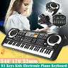 More images of 61 KEY DIGITAL MUSIC ELECTRONIC KEYBOARD TOY ELECTRIC PIANO SET W MIC KIDS GIFT