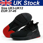 Safety Trainers Boots Shoes Steel Toe Cap lightweight Men Sneakers True UK sizes <br/> With Box , 48H DELIVERY , TRUE UK SIZES