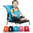 Portable Seat Kids Chair Washable Dining High Dinning Covers Seat Safety Belt