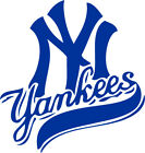 "New York Yankees MLB Decal ""Sticker"" for Car or Truck or Laptop on Ebay"