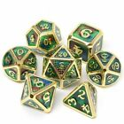 Dragon Scales Metal Dice Double Dices Polyhedral Rpg For Dungeons And Dragons
