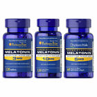Puritan's Pride Melatonin 3/5/10 mg Antidepressant Sleep Pills - Stress Relief