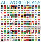 """WORLD COUNTRIES FLAG FRIDGE MAGNETS YOU PICK FROM LIST 3"""" x 2"""""""